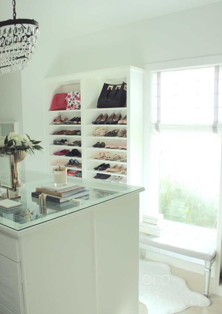 Custom closet decor