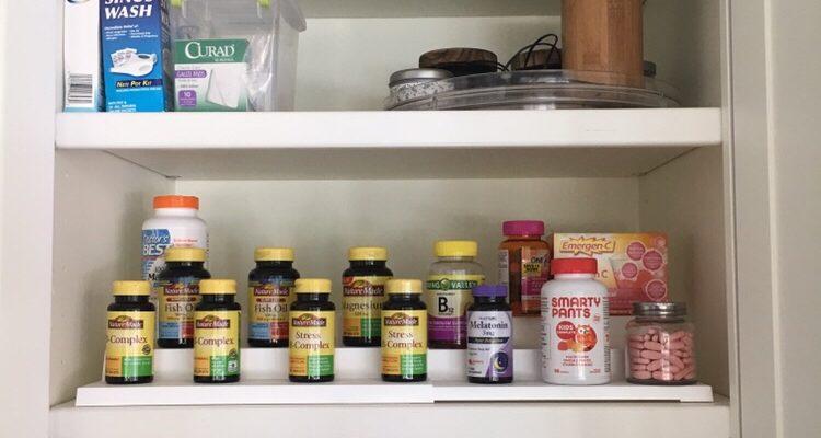 medicine cabinet kitchen organization